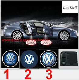2 Pcs Wireless Car Door Led Welcome Laser Projector Logo Light Ghost Shadow Light Lamp Logos for Hon