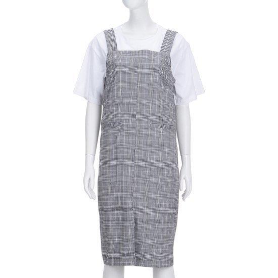 ワンダー・プレイスチェックオボロルOPWMF76LMOPZ03 面ワンピース/ 韓国ファッション