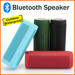 Portable Speakers ★ T2 Water Resistance Bicycle Scooter Bluetooth Super Bass TF Card Radio Speaker