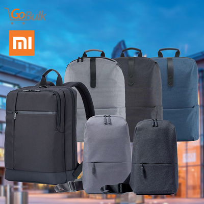 36ea3c4a4e Original Xiaomi Classic Business Backpack / College Casual Backpack /  Multi-functional Chest Bag: 4 sold: Rating: 3: Free~: S$50.00 S$19.50