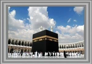 Wallsticker Dinding Mekah Mecca Custom 95cm x 150cm