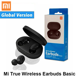 Xiaomi MI True wireless Earbuds Basic Airdots BT5.0 TWS Noise reduction Stereo bass Mi Earbuds AI