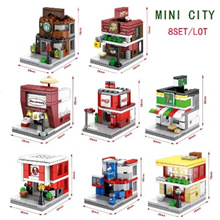 Sembo Block Mini Street Series SD6600-6615 (8 in 1 Mini City)