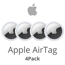 Apple AirTag / Bluetooth Connection / Simple / Long Live Battery / Water Resistant / 4 Pack