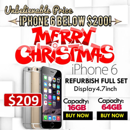 **[Apple]**Apple iPhone 6 Refurbish No Fingerprint  Best Deals With Coupon Export Model