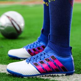 online Mens Soccer Shoes TF Futsal Hard Court Turf Football Boots Indoor  Sock Cleats Trainer Cheap a6179785e1b1e