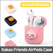 [First 30 QTY] KAKAO FRIENDS AirPods Case ★ Apeach / Blue Ryan / White Ryan / Hood Ryan ★