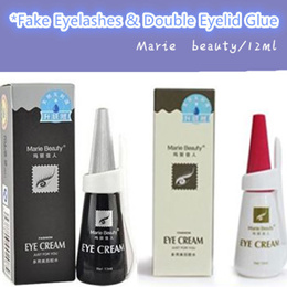 ❤Marie beauty eyelash glue/ Double eyelid glue Black / White Eyeliner /Fake Eyelashes Glue ❤