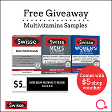 [FREE GIVEAWAY + $5 VOUCHER] Swisse Vitamins Supplements Australia Number 1 Brand