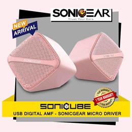 NEW Arrival   SONICGEAR SONICUBE Speaker   Laptop Speaker   1 Year Warranty