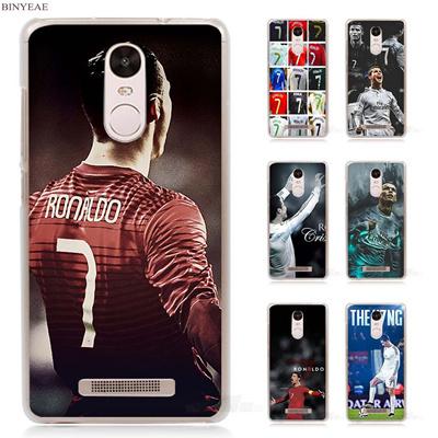BINYEAE cristiano ronaldo cr7 Transparent Case Cover for Xiaomi Redmi Mi  Note 4X 2 3 3S aa8374885aa7