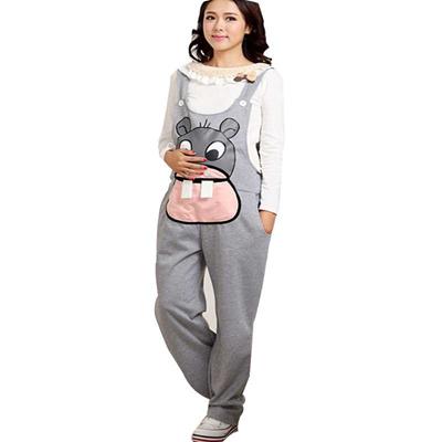 aa58c73ed5a4a Gravidas Jumpsuit Maternity Pants Long Pregnancy Clothes For Pregnant Women  Overalls Roupa Gestante