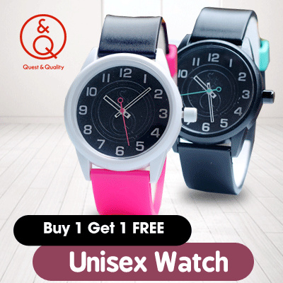 FREE SHIPPING! TODAY SALE ONLY! UNISEX WATCH _ JAM TANGAN QNQ UNISEX_BANYAK WARNA Deals for only Rp120.000 instead of Rp120.000