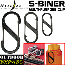 [OutdoorBrands] NITE IZE Metal / Plastic S-BINER / SlideLock Steel Clip - Many Choices and Sizes !