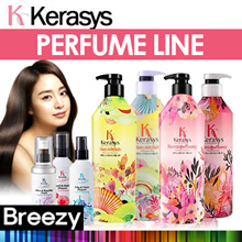 BREEZY ★ [Kerasys] Perfume Edition / Hair Care / Shampoo / Rinse / Conditioner / Hair Essence / Treatment / Sclap Care / Prevent Hair-loss / Korean Cosmetics / Korean Beauty / Made in Korea