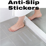 5 Pcs Bathroom Anti-Slip Skid Sticker Grip Tape Strips Bathroom Floor Bathtub Shower