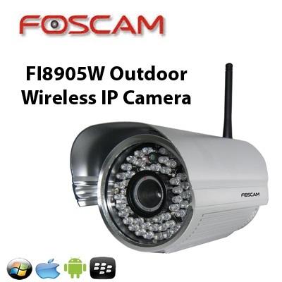 Foscam[Foscam] FI8905W Outdoor HD Wireless IP Camera ( SG 2 year warranty )