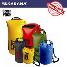 Karana Ocean Pack Waterproof Dry Tube Bag Dry Backpack Boating Swimming Snorkeling Beach sports gym