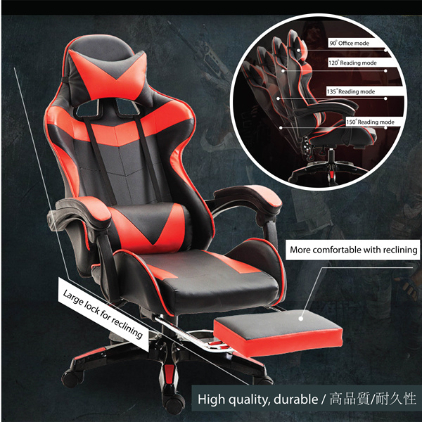 LOL Chair / Racer Seat Chair / high back boss chair / ideal chair for study table Deals for only S$499 instead of S$499