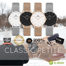 100% AUTHENTIC★Daniel Wellington 32mm Watch ★Mesh and Leather Strap★Women Watch★
