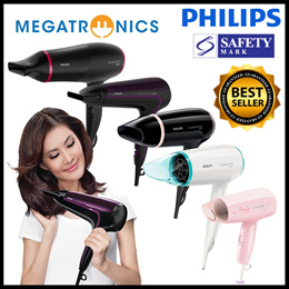 Philips Hair Dryer / Travel Dryer | ThermoProtect Ionic | Cool Air Setting |Salon Grade Hairdryer