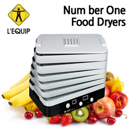 LEQUIP Home dehydrator Food Steamer  /dried meat Fruits dry cooker LD-918B