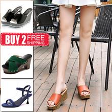 update 2019 new style!!♥Women heels sandals ★ Korea style★ Slimming Shoes★sandals