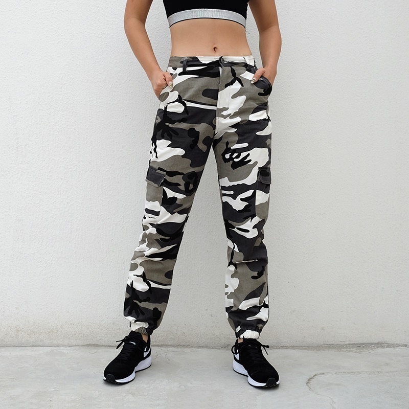 fit to viewer. prev next. HEYounGIRL Camo Pants Women Cargo Sweatpants  Yellow ... 6e75d0a474