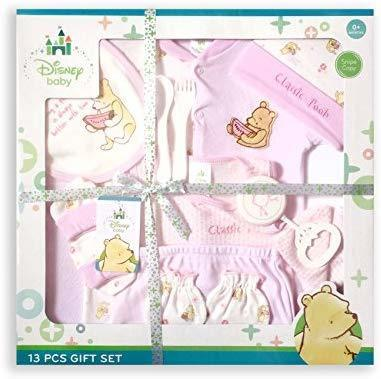 7a7955c70782 Qoo10 -  Baby  Disney Baby Classic Pooh Giftset, Pink, 13-Piece ...