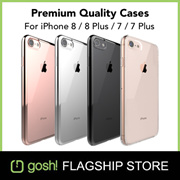 ★Premium Quality★ GOSH iPhone 8 / 8 Plus / 7 / 7 Plus Cases + Screen Protector