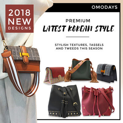 143ce0510f5 2018 OMODAYS 🌟 Latest Korean Bag Trends 🌟 Handbags Bucket Shoulder Sling  Bags Premium Quality