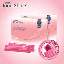 InnerShine Marine Collagen with Kyoho Grape Jelly Strip (14x10g)x2 (July 2018 Expiry)