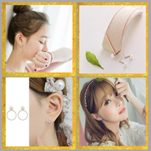 ♥S925 Earring/Silver 925♥ Korea♥ Anti Allergy ♥ Gift/ Accessories/ Christmas/ Jewelry/ Necklace