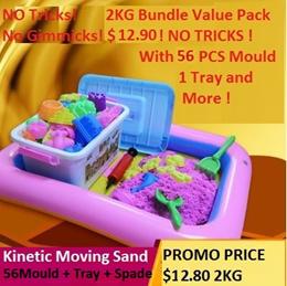 Local Seller/Kinetic sand/52 PCS Mould set Bundle!/toys/educational/play dough/sand/