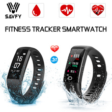 SAVFY® Heart Rate Smartwatch / Heart Rate Monitor Watch / Blood Pressure Watch /Fitness Tracker