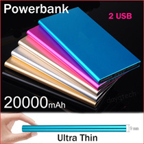 High Capacity PowerBank Portable Battery Charger Remax Power Bank 20000mAh Ultra Slim with LED Light