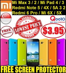 ★ XiaoMi Mi Max 3 2 Mix Redmi Note 5 5A 4X 4 3 Mi 5S 5 Mi4i Mi3 Redmi 6  6A 4X 4A Phone Case Casing