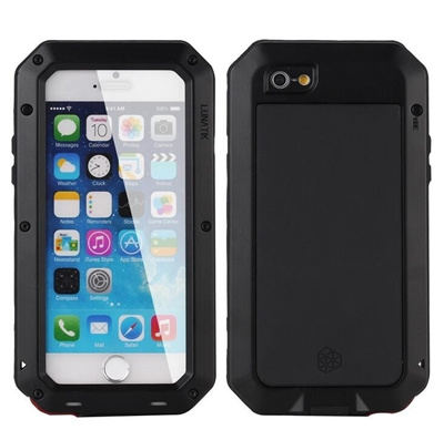 separation shoes 4fc9e 39bbd Luxury doom armor Dirt Shock Waterproof 4proof Metal Aluminum cell phone  case For iphone 4 4s 5 5c 5