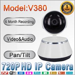 Wireless HD Smart IP Camera V380 Q6S | Night Vision| Pan/Tilt| 1 Yr Warranty