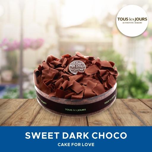 [DESSERT] Tous Les Jours/ Cake Sweet Dark Choco/ Mobile-Voucher Deals for only Rp221.000 instead of Rp221.000