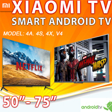 Smart XIAOMI Android TV 50 55 65inch 1year warranty