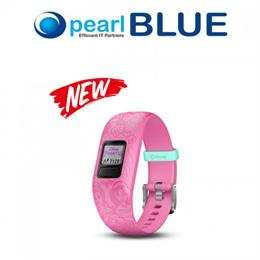 Garmin vivofit jr. 2 Disney Princess Kids Fitness Tracker with Interactive App Experience - Pink
