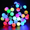 40 LED Solar Automatic Charging Light String Garden Wedding Christmas Outdoor Decorations