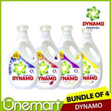 [DYNAMO] NEW Detergent  CHOOSE ANY 4! LARGE Bottle Bundle (2.7L / 3.0 L)