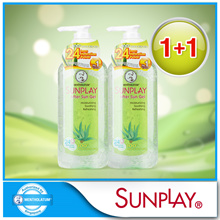 FREE DELIVERY!!1 + 1 [Sunplay] After Sun Gel Natural Aloe Vera 200g U.P$15.90 [Expiry Date:Jan 2019]