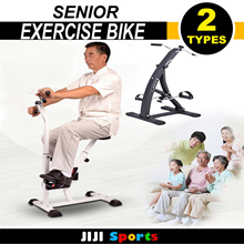 ★Senior Exercise Bike ★ Lightweight Fitness Equipment Arm Leg Training Tension Rehabilitation