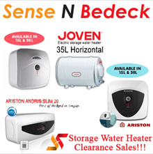 Joven | Ariston | Alpha | Lowest Price | Storage Water Heater Clearance Sales | Local warranty