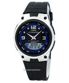 [CreationWatches] Casio Ana-Digi Out Gear Fishing Illuminator AW-82-1AVDF AW-82-1AV Men s Watch