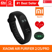 💖READY STOCK💖 [Xiaomi Band 2] Original Xiaomi Mi Band Bracelet Wristbands  - 1stshop Singapore