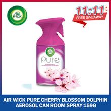[RB Home] Free Giveaway 11.11! Air Wick Pure Cherry Blossom Dolphin Aerosol Can Room Spray 159g